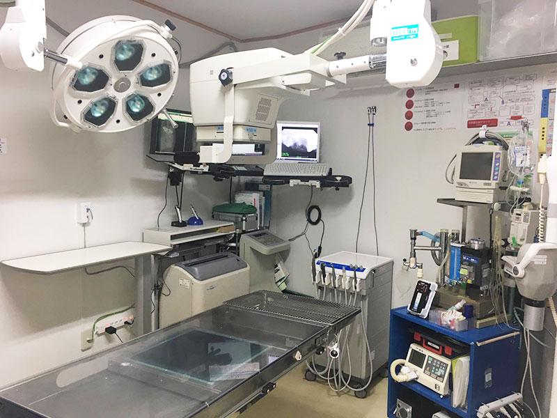 手術室&レントゲン室